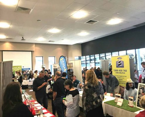 NDIS expo crowd